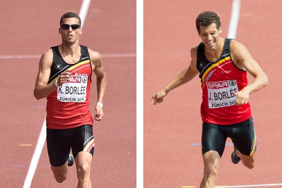 Kevin Borlée kende weinig problemen, maar broer Jonathan verkrampte en plaatste zich ternauwernood rechtstreeks voor de halve finale.